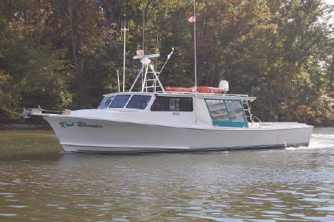 2001 Chesapeake Deadrise, inspected Thomas Built 50' x 16' 50' Chesapeake Bay Deadrise, Carries a USCG Inspection for Bay and Ocean