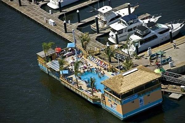 1987 Custom Tiki Barge w/ Pool