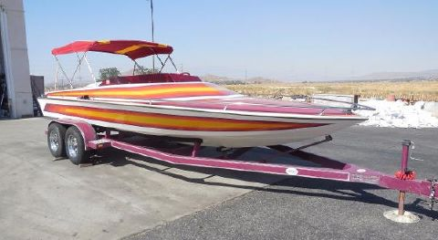 1984 Eliminator Boats 20 Closed Bow Jet