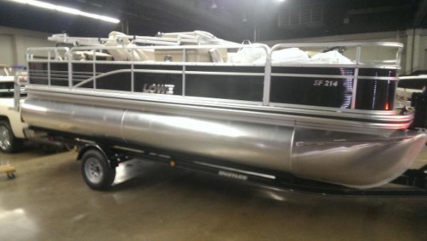 Fishing Pontoon Boats For Sale >> New 2019 Lowe Sf 214 Fishing Pontoon Harrodsburg Ky 40330 Boat