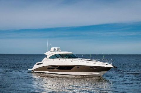 2013 Sea Ray 540 Sundancer Starboard Profile