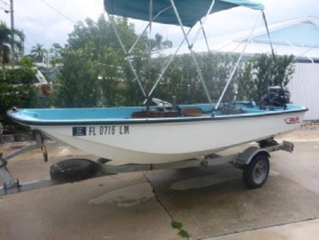 1970 Boston Whaler 13 restored