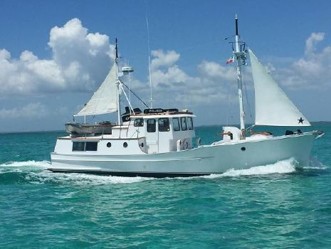 2000 Penobscot PH Trawler '09 Deere, fully updated boat