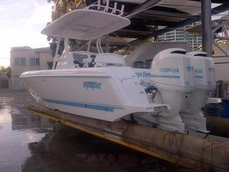 2013 Intrepid 24 Open Port Quater Profile / Engines