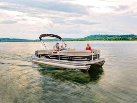 2020 SUN TRACKER PARTY BARGE 22 RF DLX