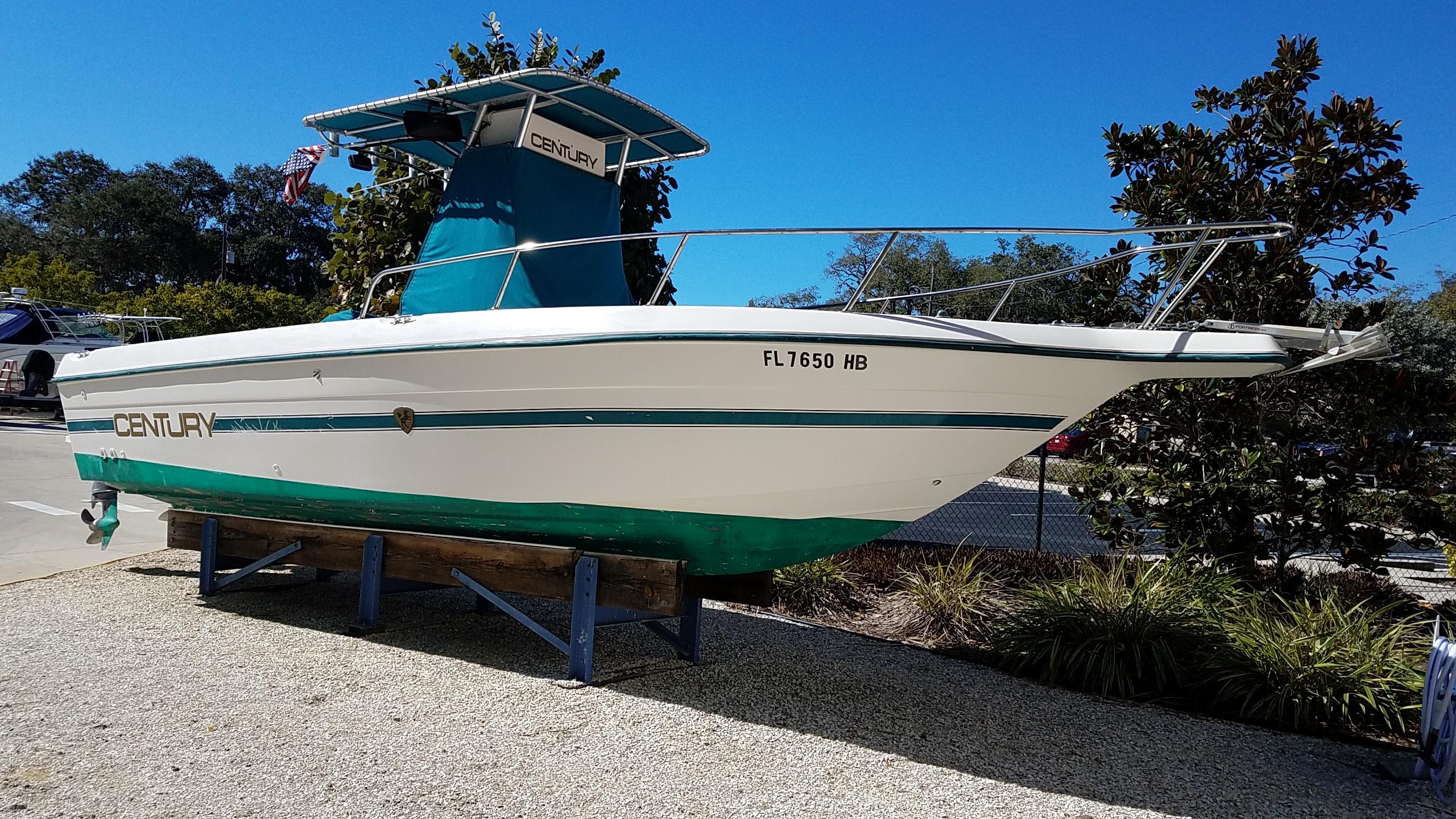1996 century 2500 25 foot 1996 century motor boat in for Century motors of south florida