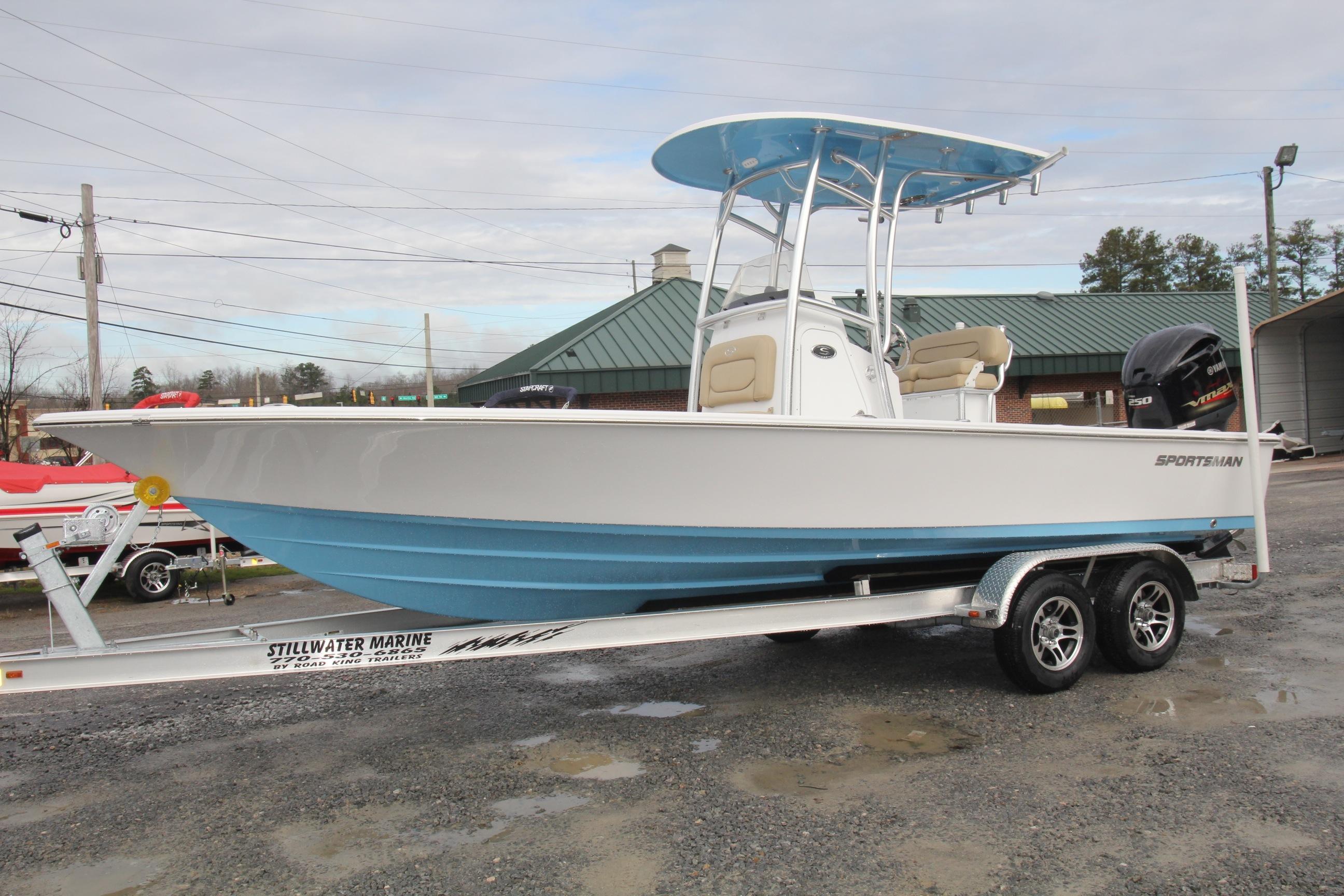 2016 Sportsman Tournament 234 Bay Boat