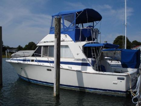 1982 Bertram 33 Flybridge Cruiser Photo 1