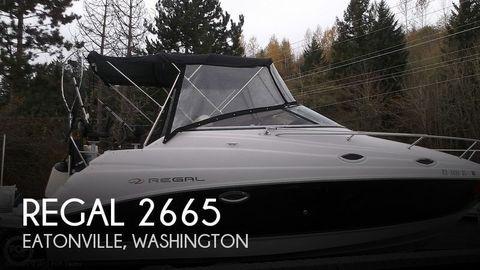 2008 Regal 2665 Regal 2008 Regal 2665 for sale in Eatonville, WA