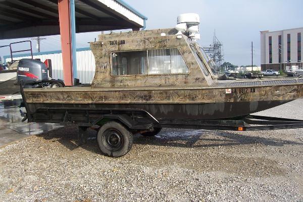 Used 1981 custom aluminum 20 39 cabin boat broussard la for Aluminum boat with cabin for sale