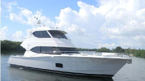 2012 Maritimo 48 Enclosed Bridge Profile