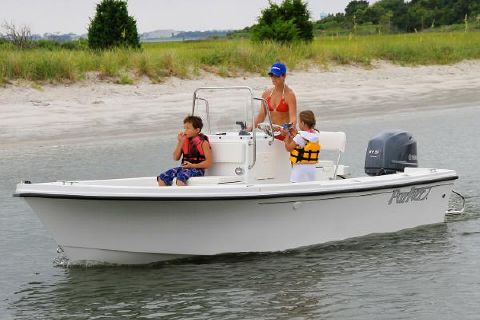 2017 Parker 1801 Center Console Manufacturer Provided Image
