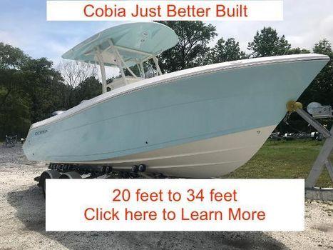 2018 COBIA BOATS 237 Center Console