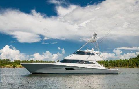 2016 Viking 92 Enclosed Bridge Convertible Profile
