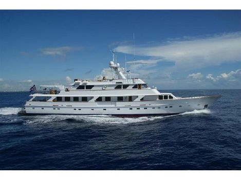 1980 Picchiotti Tri Deck Motor Yacht 150' Picchiotti Motor Yacht GOLDEN COMPASS