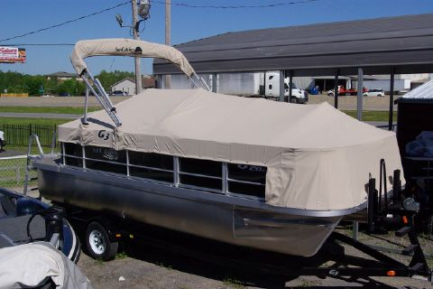2016 G3 Boats SunCatcher V20 Fish & Cruise