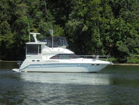 2000 Sea Ray 380 Aft Cabin 38 Sea Ray Starboad Profile
