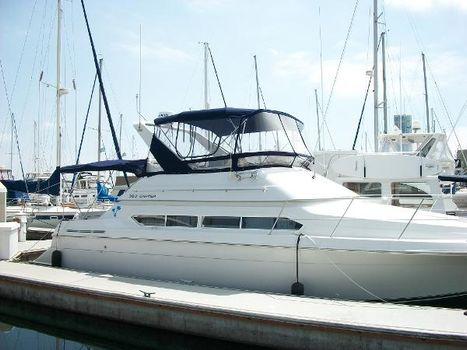 1996 Carver Santego Starboard View Shoreline Marina