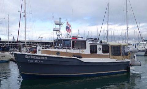 2012 Ranger Tugs R29 Port Side View