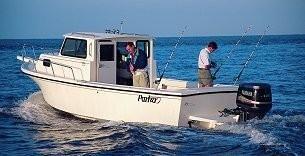 2002 Parker 2520 Sport Cabin Manufacturer Provided Image