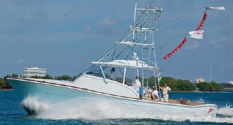 2012 Release Boatworks walk around sportfish