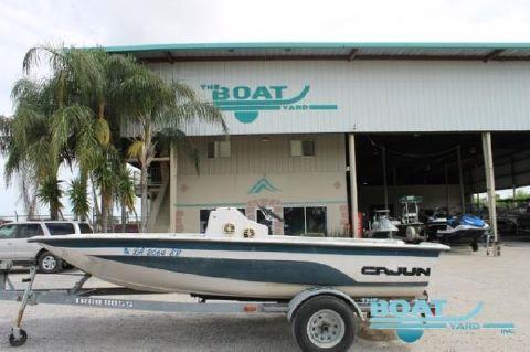 1995 Cajun Bass Boat 1650