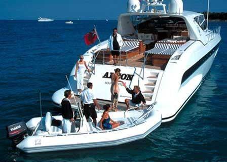 2003 Zodiac Yachtline Deluxe 420 Manufacturer Provided Image: Similar boat shown: Yachtline Deluxe 480.