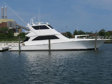 2002 Viking 65 Enclosed Bridge Convertible