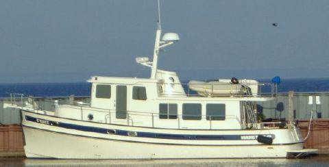 2004 Nordic Tugs 42 Port profile