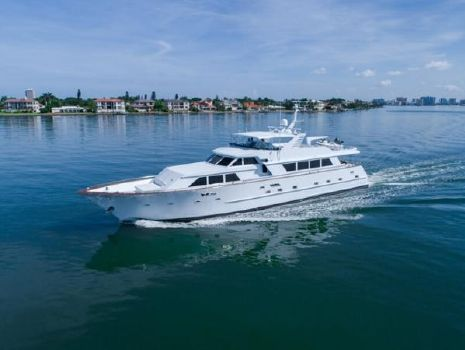 1987 Broward Pilot House Motor Yacht