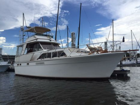 1985 Egg Harbor Flush Deck Pilothouse