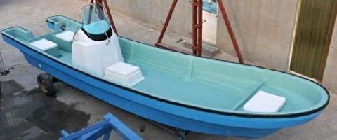 2015 Allmand 23 Commercial Fishing Panga