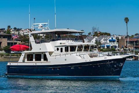 2006 Selene Ocean Trawler Starboard Profile