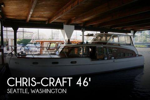 1949 Chris-Craft 46 Double Cabin Flybridge 1949 Chris-Craft 46 Double Cabin Flybridge for sale in Seattle, WA