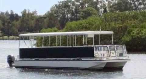 2016 Allmand  33 Catamaran Water Taxi