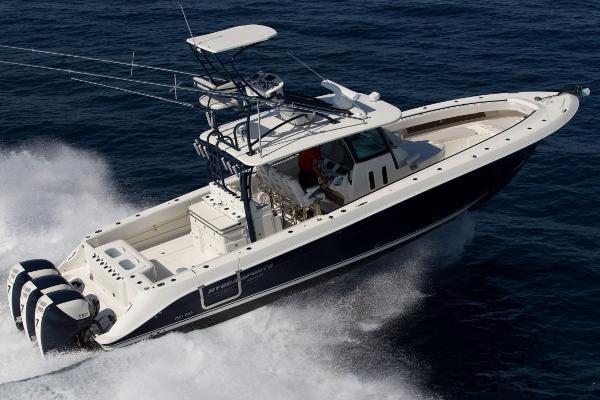 2014 Hydra-Sports 4200 Triple 557 Seven Marine's
