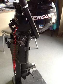 2011 Mercury 5 HP Sail Power Motor