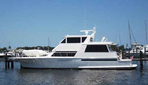 2000 Viking  60 Cockpit Sport Yacht Profile
