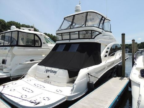 2007 Sea Ray 58 Sedan Bridge