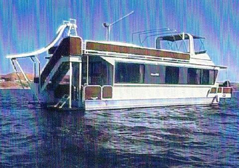 1989 Skipperliner Flybridge Houseboat