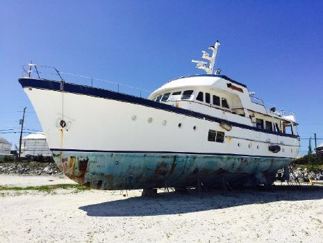 1964 Feadship Classic Canoe Stern Current condition (May 16, 2015)