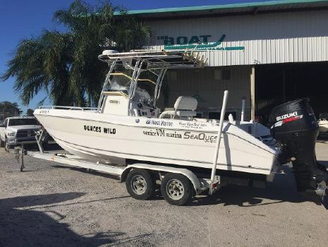 2007 Sea Quest 2350 Center Console SKA