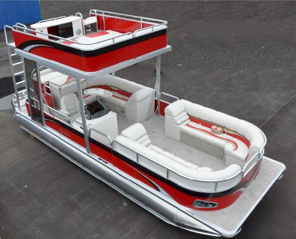 New 2014 Tahoe Pontoon Funship Double Decker Harrodsburg