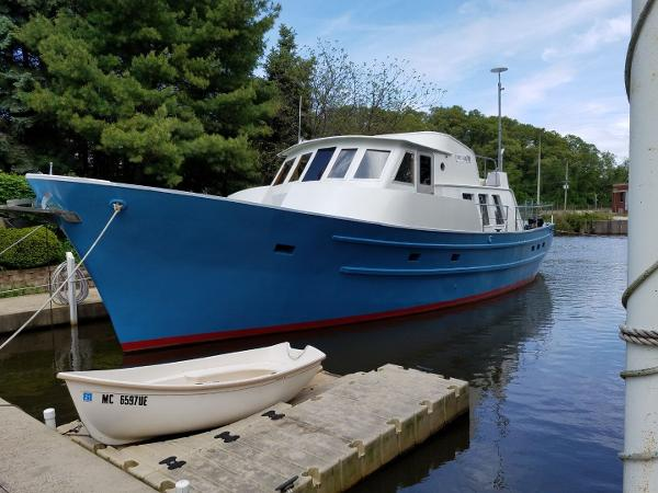 2013 seaton 53 pilothouse trawler