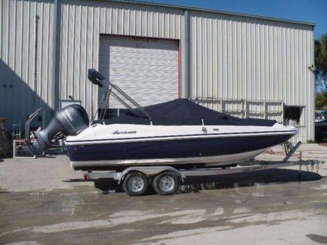 2016 Hurricane SS 211 OB Deck Boat
