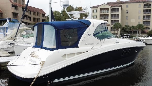 Sea ray 390 sedan bridge new and used boats for sale for Used boat motors for sale in sc