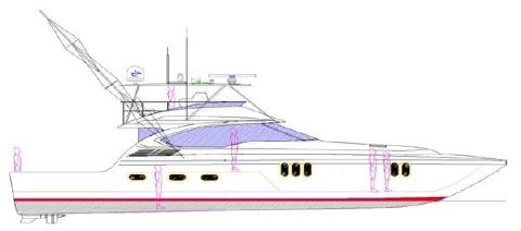 2017 Newport Offshore Convertible Profile