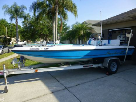 1998 Action Craft 1890 FLATS MASTER 1998 Action Craft 18 for sale in Palm Harbor, FL