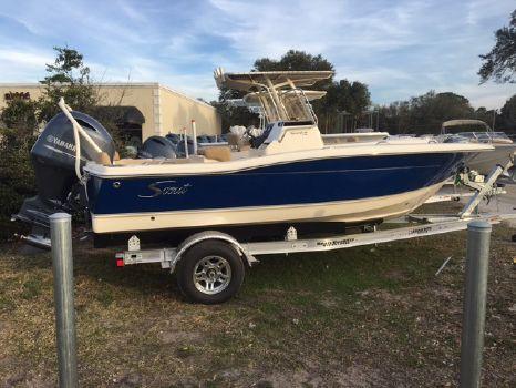 2017 Scout Boat Company 195 Sportfish