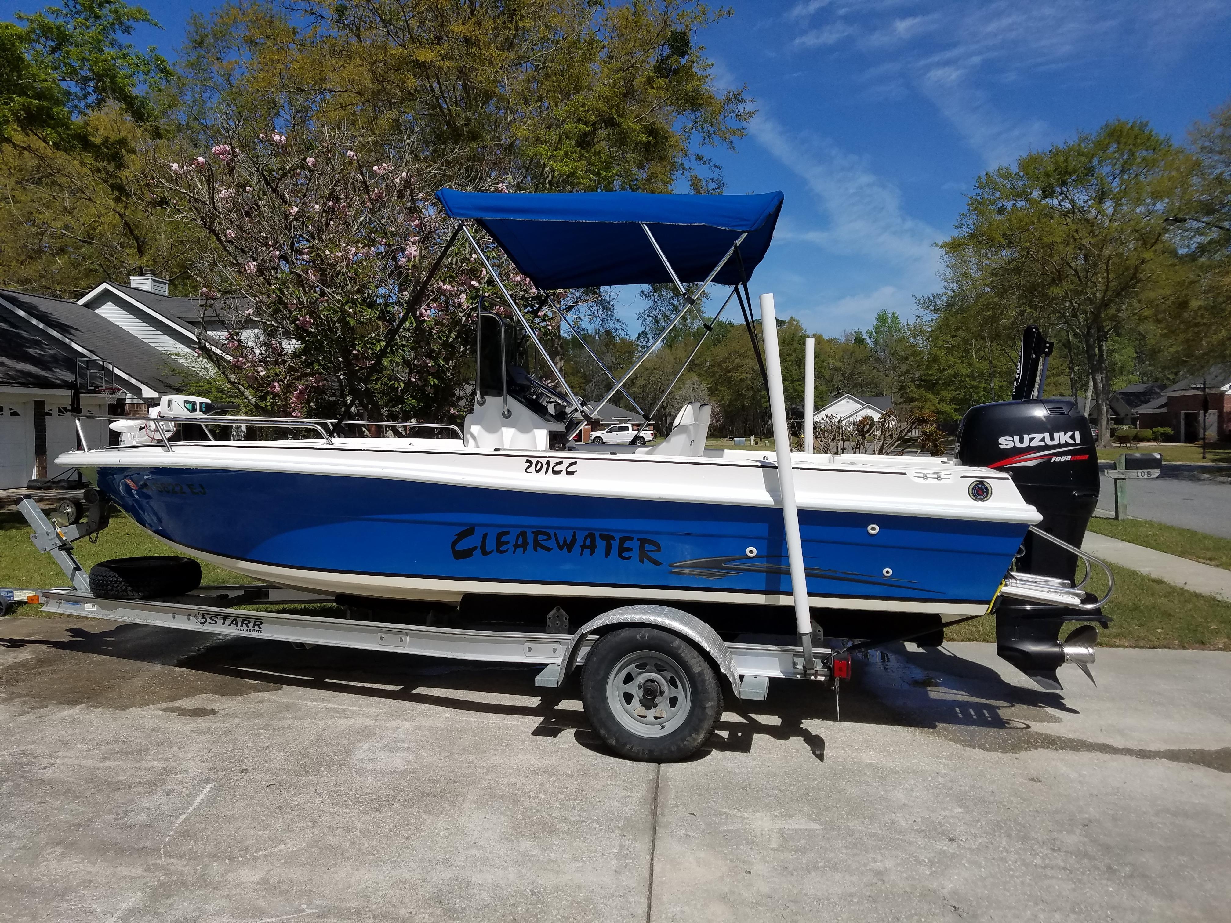 Used 2002 Clearwater 201cc Savannah Ga BoatTrader